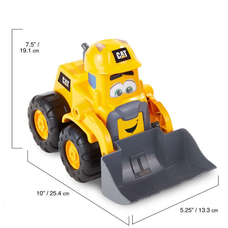 Cat Les copains du chantier Construction buddies Junior Crew chargeur sur roues