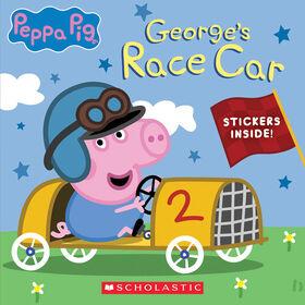 Scholastic - Peppa Pig: George's Race Car - English Edition