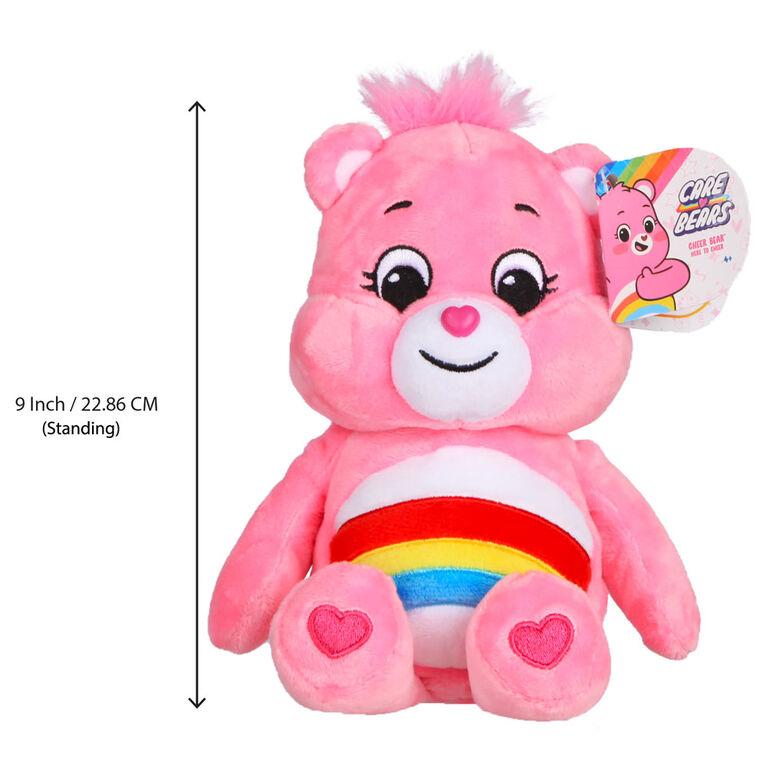 Care Bears Basic Bean Plush - Cheer Bear