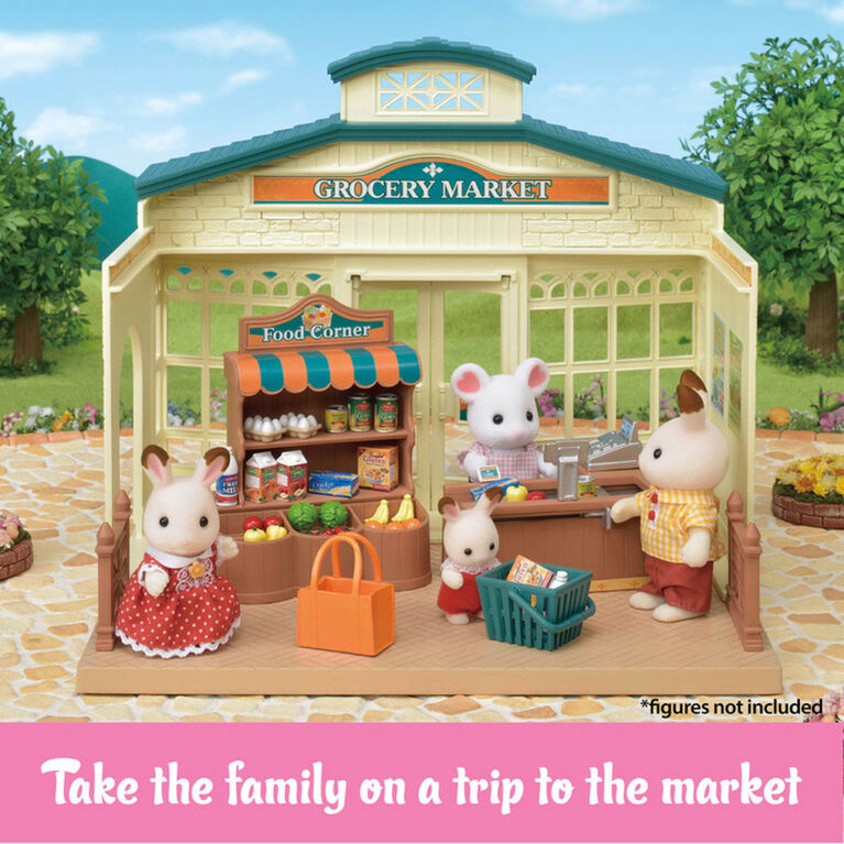Calico Critters - Grocery Market
