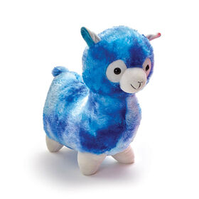 "Snuggle Buddies Adorable Alpaca 17"" Plush Blue - R Exclusive"