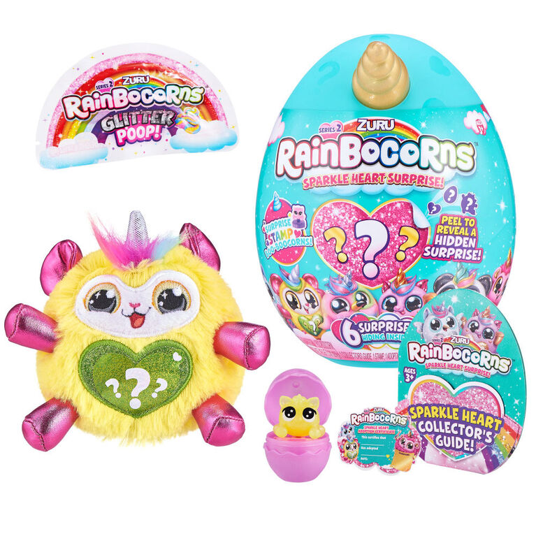 Rainbocorns Sparkle Heart Surprise Series 2
