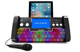 iKARAOKE Bluetooth CD+G Karaoke System