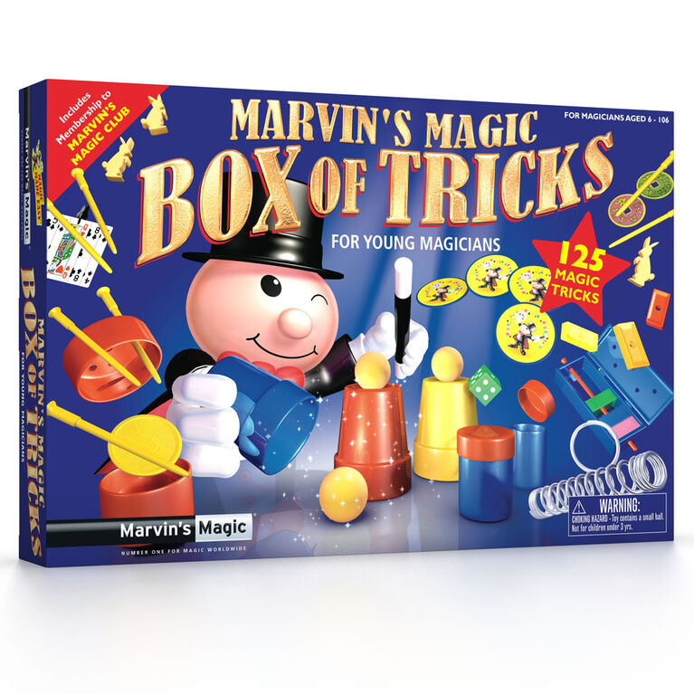Marvin's Magic - Boite de tours