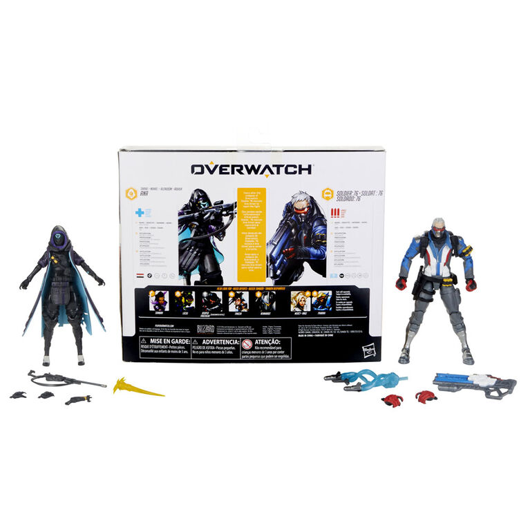 Overwatch Ultimates Series Soldier: 76 and Shrike Ana Skin Dual Pack
