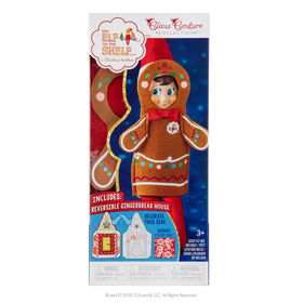 Elf on the Shelf - Claus Couture - Jolly Gingerbread Set