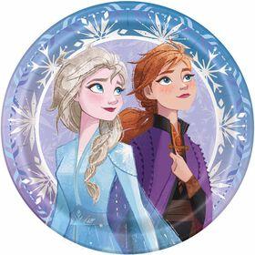 """Frozen 9""""  Plates, 8 pieces"""