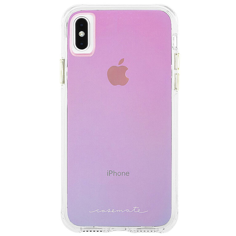 Étui Tough de Case-Mate pour iPhone Xs Max, iridescent