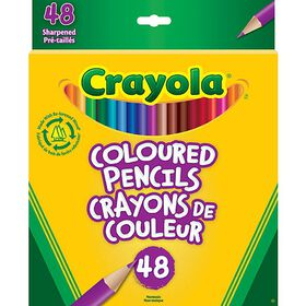 Crayola Coloured Pencils, 48 Ct