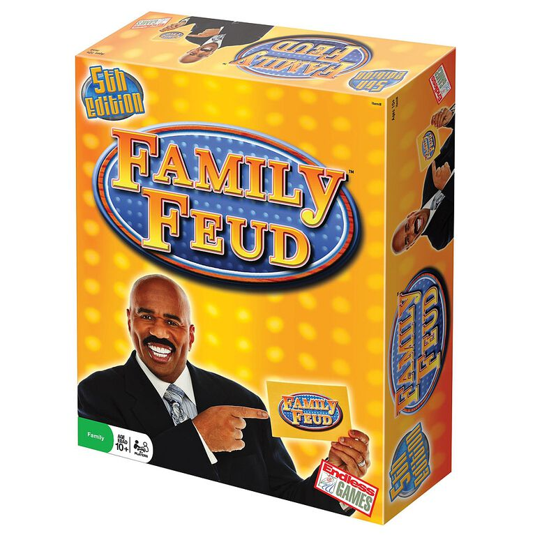 Family Feud Game - English Edition