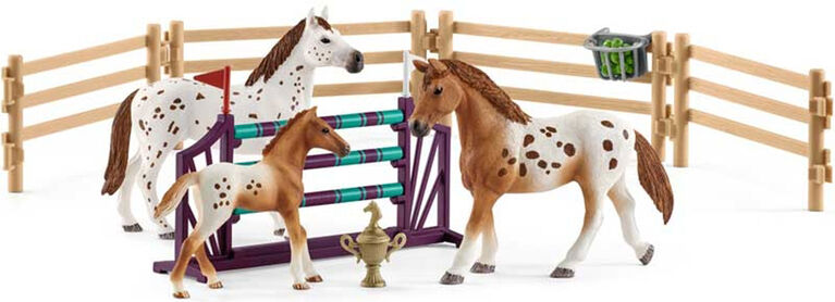 Schleich Horse Club - Lisa's Tournament Training Set