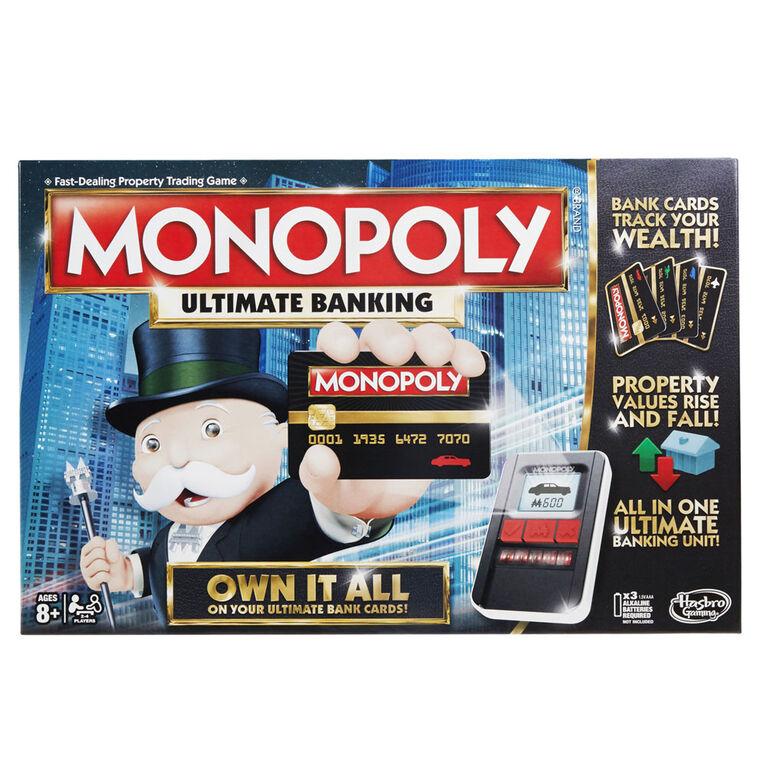 Hasbro Gaming - Monopoly Ultimate Banking Game