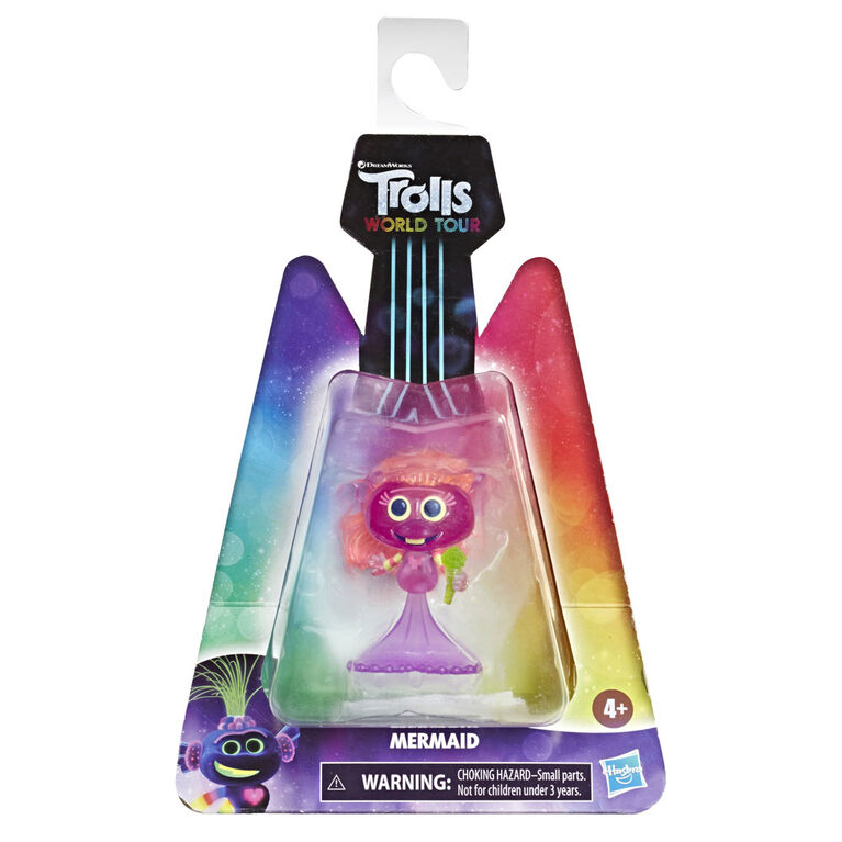DreamWorks, Les Trolls 2 : Tournée mondiale, figurine Sirène