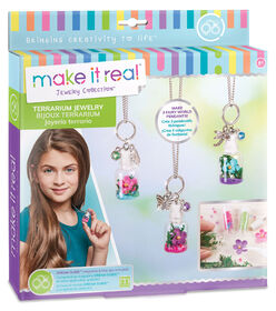 Make It Real Terrarium Jewelry Set