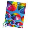 Big Ben Milton Bradley 300-Piece Luxe Jigsaw Puzzle, Rainbow Umbrellas