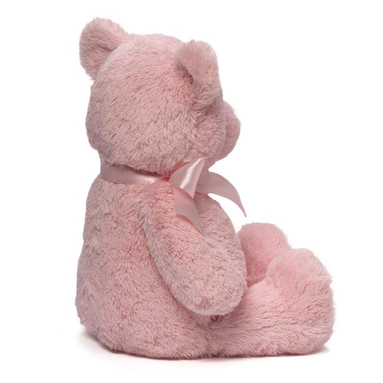 Baby GUND, Ours en peluche, My 1st Teddy, rose petite fille, 38,1cm
