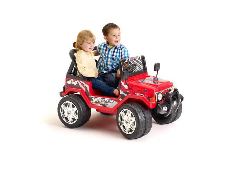 Kidsquad Wrangler Style 12V Red