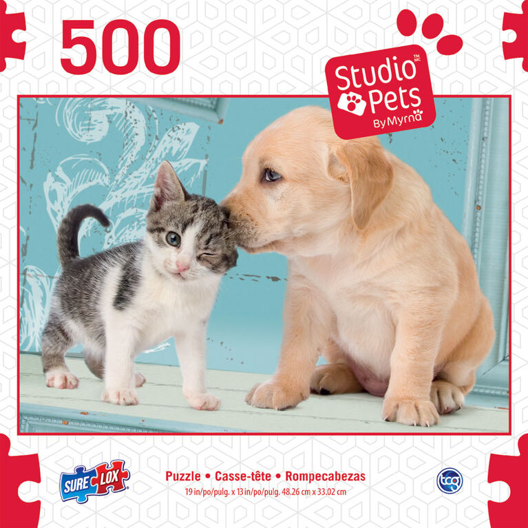 Sure-Lox Studio Pets Assorted 500 Piece Puzzles