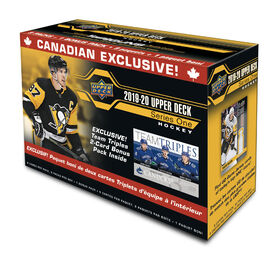 2019-20 NHL Series 1 Team Triples Blaster