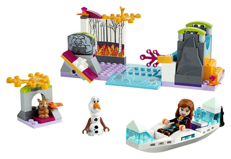 LEGO Disney Princess  Anna's Canoe Expedition 41165
