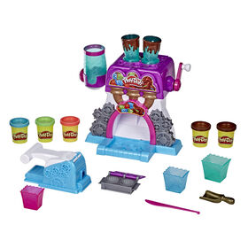 Play-Doh Kitchen Creations, La chocolaterie, avec 5 pots de pâte Play-Doh atoxique