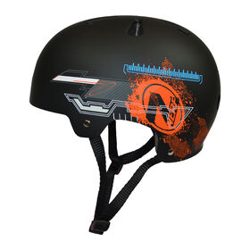 Flybar NERF Multi-Sport Helmet for Youth and Adults (Black Medium)