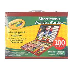 Crayola - Masterworks Art Case-Espresso - Exclusive