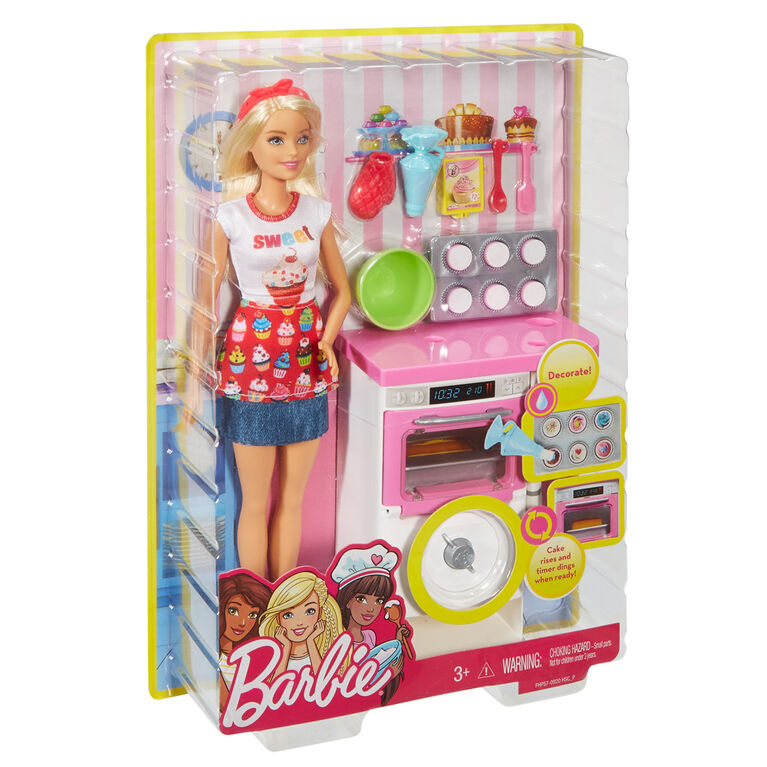 Barbie Bakery Chef Doll & Playset