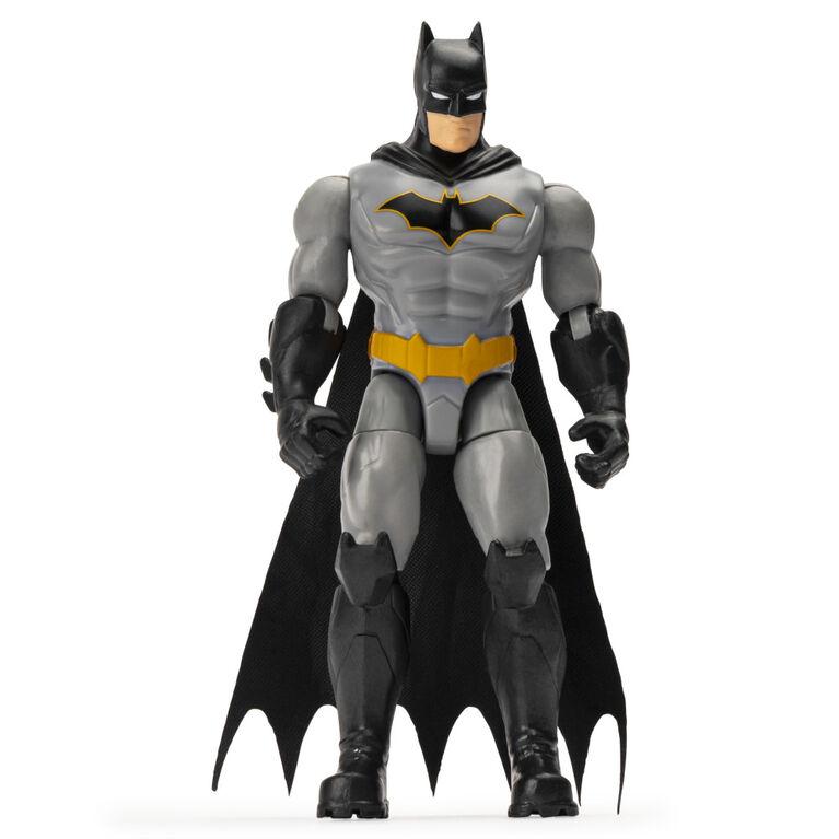 Batman, Figurine articulée de 10 cm avec 3 accessoires mystère