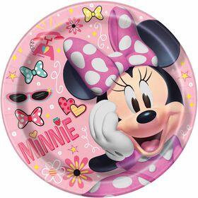 """Minnie   9""""  Plates, 8 pieces"""