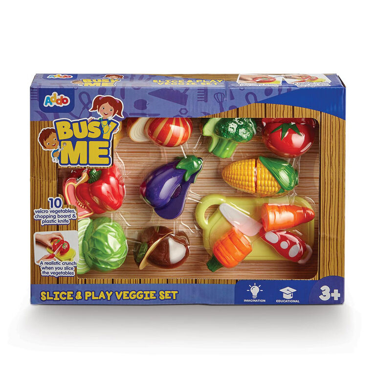 Busy Me Slice & Play Fruit Set - R Exclusive