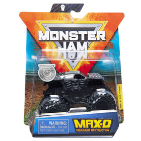 Monster Jam, Official Max D Monster Truck, Die-Cast Vehicle, World Finals Series, 1:64 Scale