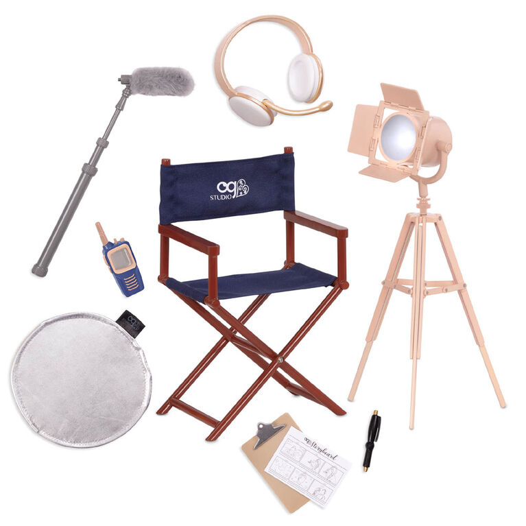 Our Generation, Set The Scene, Movie Accessory Set for 18-inch Dolls