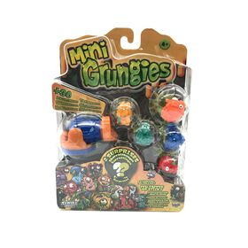 Mini Grungies - Family Set 6 Pack and Launcher