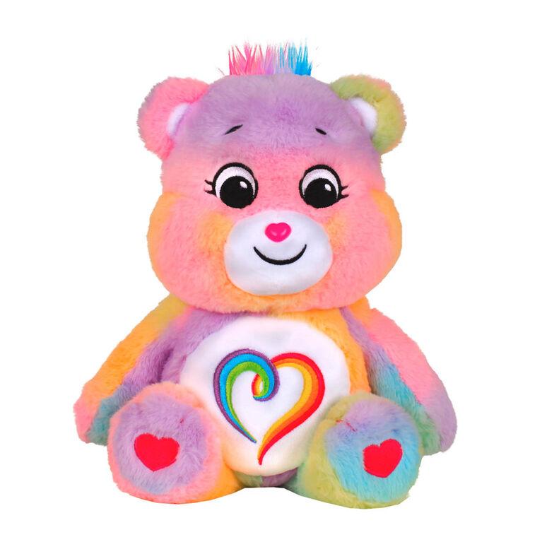 Peluche ours ensemble Care Bears - Il n'y en a pas deux pareils!