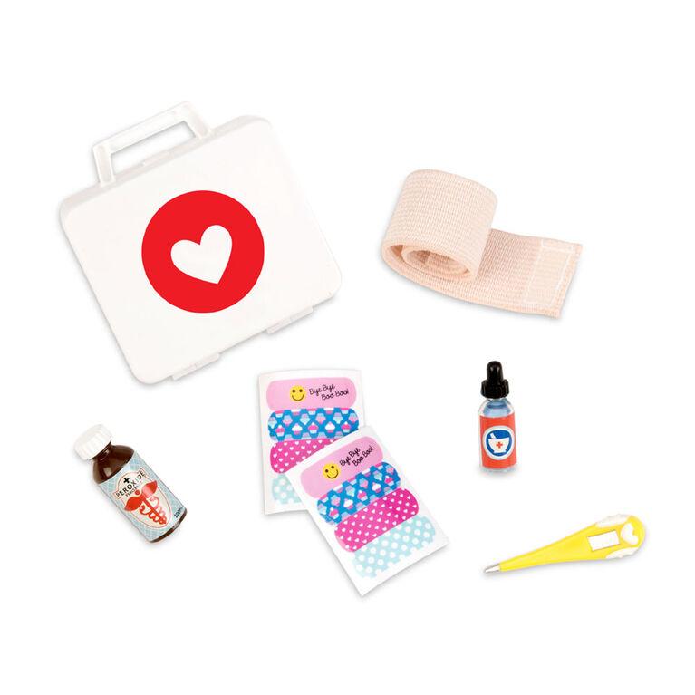 Little Owie Fix-It Kit, Our Generation, Trousse de premiers soins pour poupées de 18po