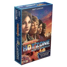 Pandemic Hot Zone North America - English Edition