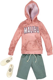 Barbie Ken Coral Hoodie and Green Shorts Fashion Pack - Original