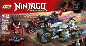 LEGO Ninjago La Course de rues en motos 70639