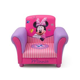Minnie Mouse Stoel.Disney Minnie Mouse Upholstered Chair Exclusive Toys R