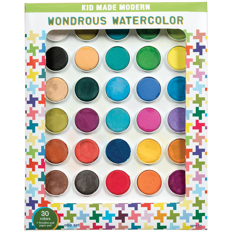 Kid Made Modern – Ensemble Merveilleuse aquarelle