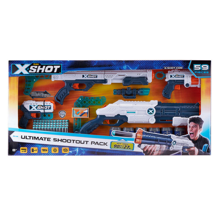 Zuru X-Shot Excel Ultimate Shootout Pack