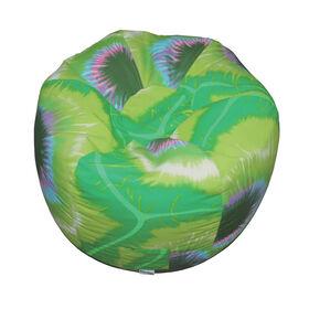 Boscoman - Fauteuils poire d'aspect teint noué - lime