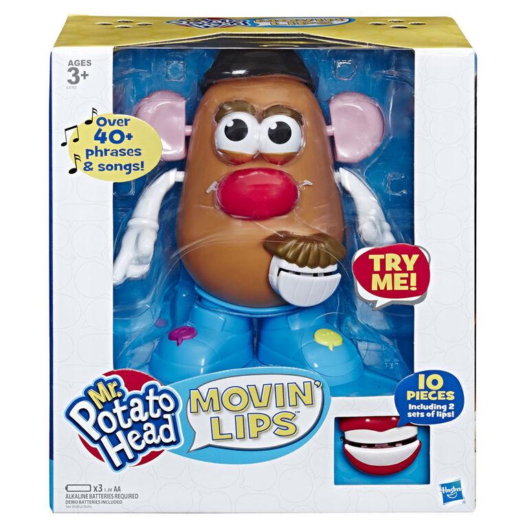 Playskool Mr Potato Head - Jouet électronique interactif parlant Mon ami bavard