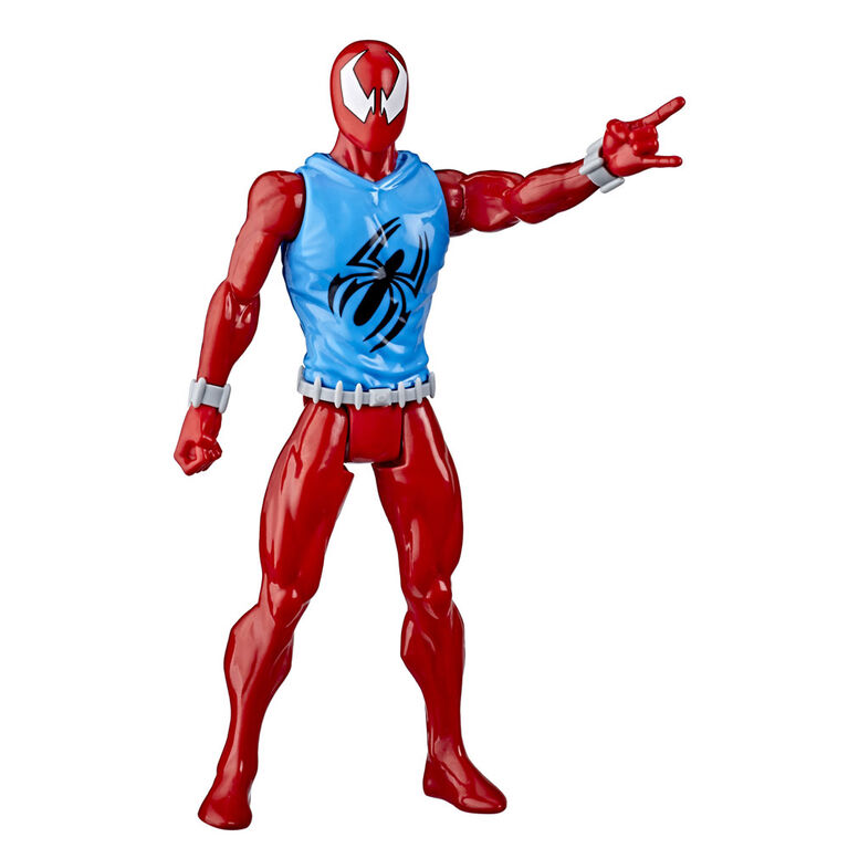 Marvel Spider-Man: Titan Hero Series Blast Gear figurine de super-héros Marvel's Scarlet Spider