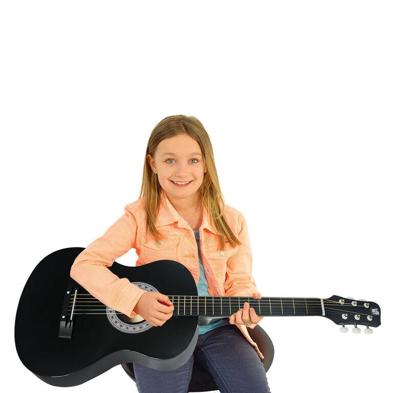 Concerto-Guitare Acoustique de 36po - Noir - Exclusif