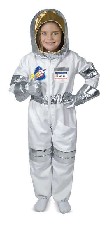 Melissa & Doug - Astronaut Role Play Costume Set