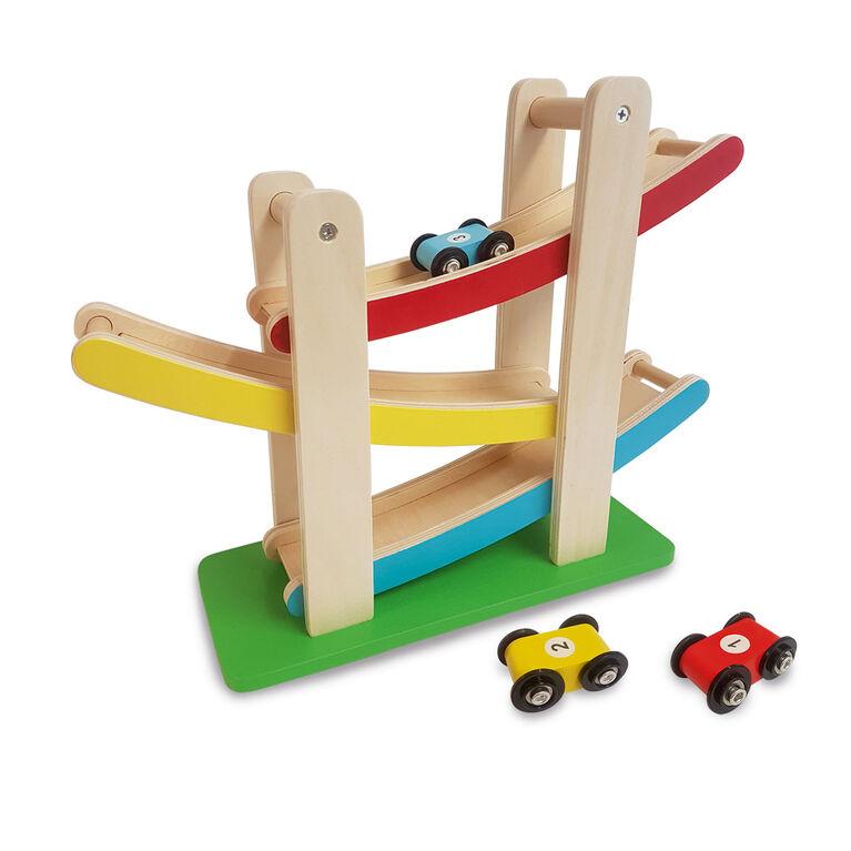 Woodlets - Zig Zag Car Track