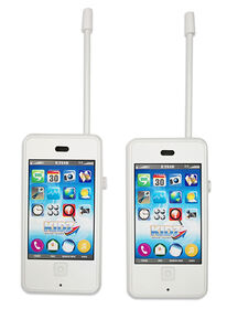 Kidz White Cell Phone/Walkie Talkie