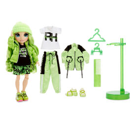 Rainbow High Jade Hunter - Green Fashion Doll with 2 Outfits - R Exclusive